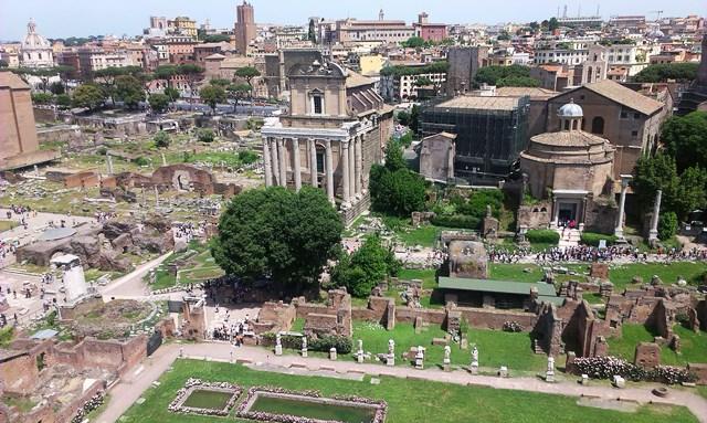 Рим, Палатинския хълм
