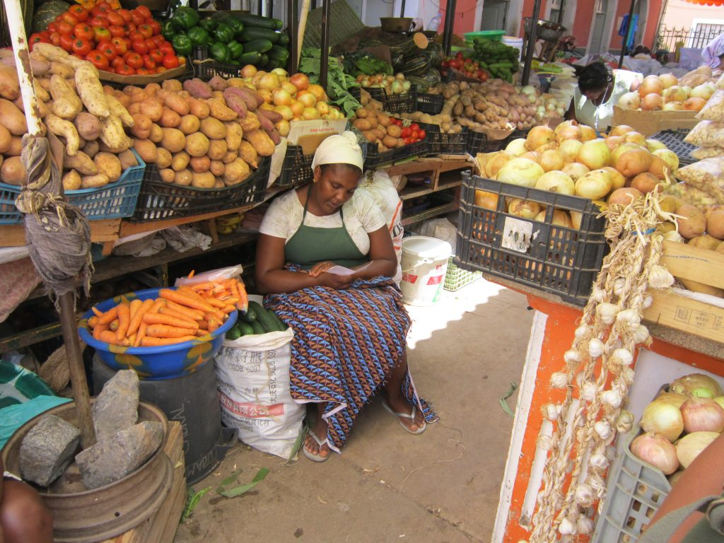 Кабо Верде Африка пазар