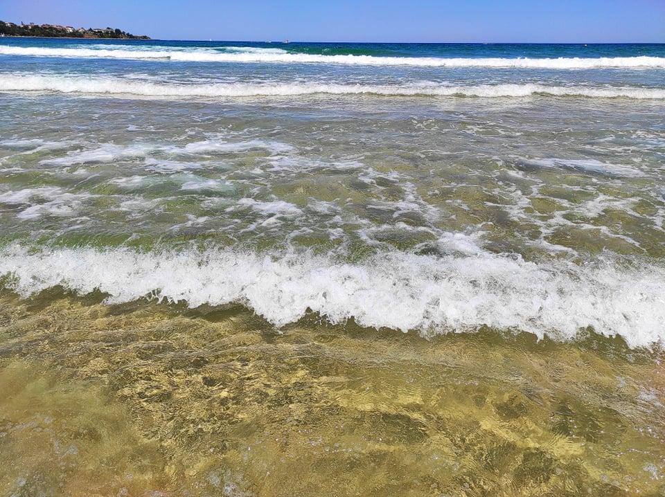 вълни на море