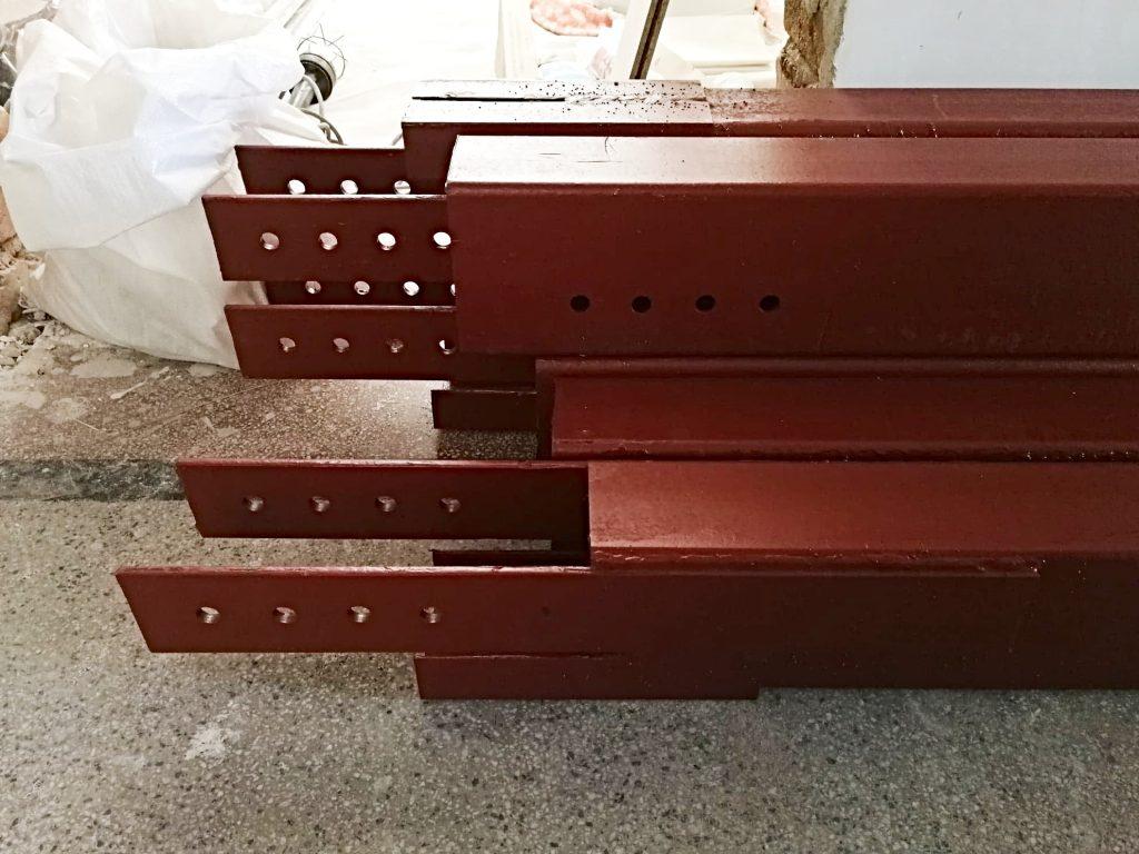 метални греди за укрепване на гредоред