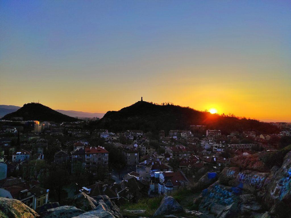 залез от тепетата в Пловдив